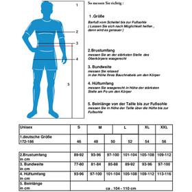 axant Expert Thermo Långärmad cykeltröja Herr Men vit/svart